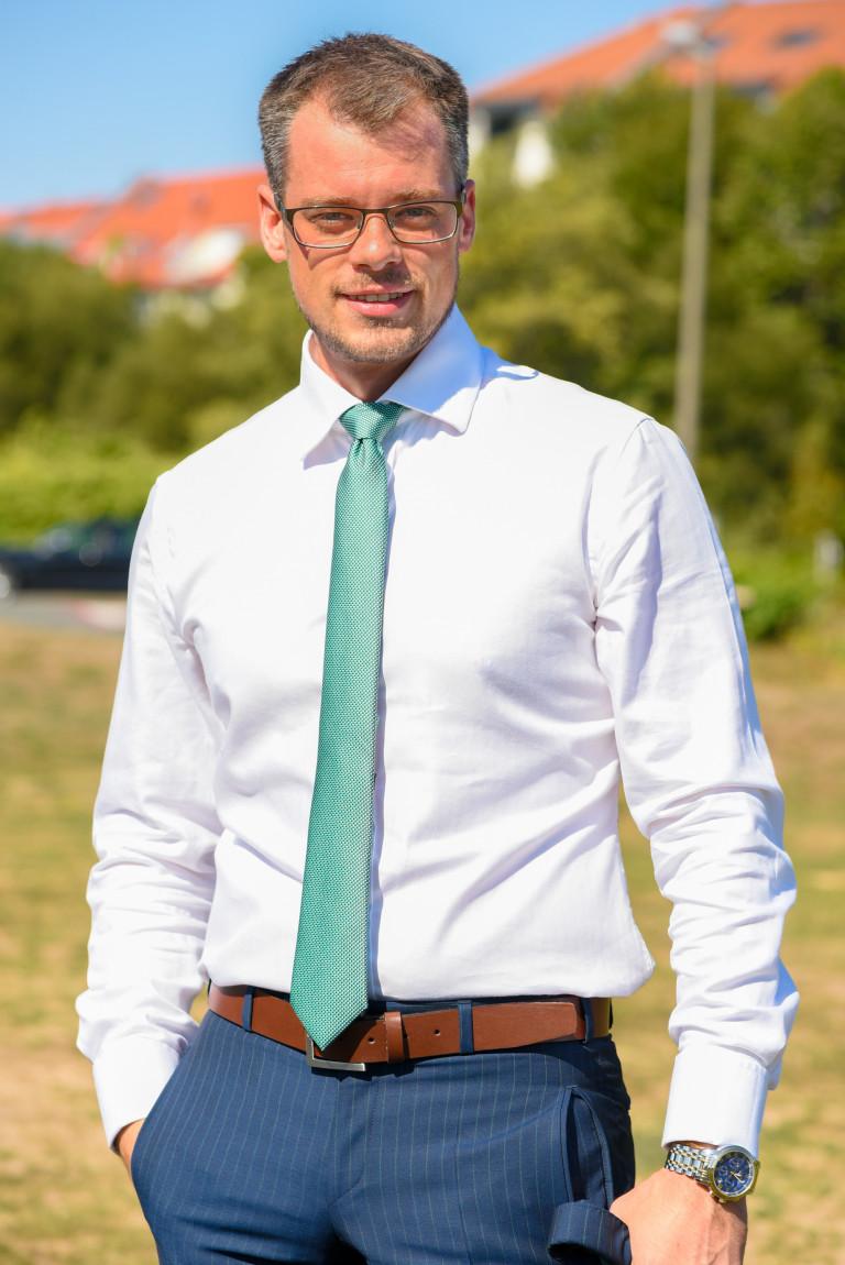 Simon Rascher am Wiesengrund in Nürnberg